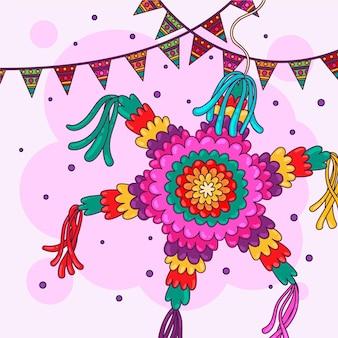 Piatto posada piñata