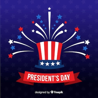 Flat president's day