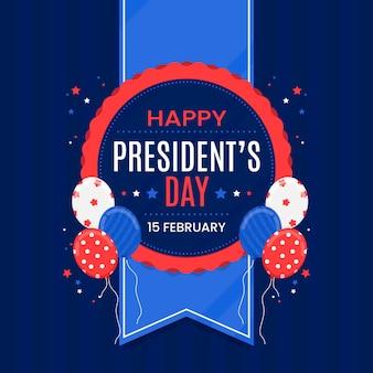 Flat president's day