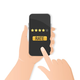Flat rate smartphone for mobile device design.