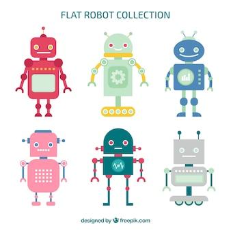 フラットロボットキャラクタコレクション