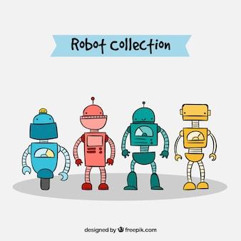 플랫 로봇 컬렉션