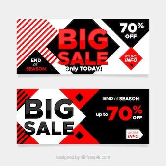 Плоские рекламные баннеры