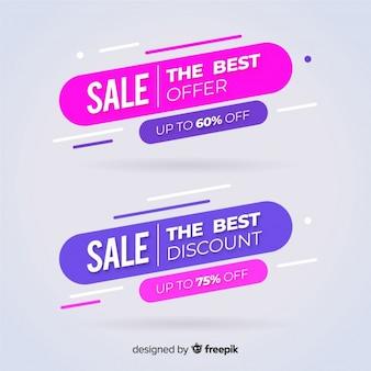 Flat sale ribbon set