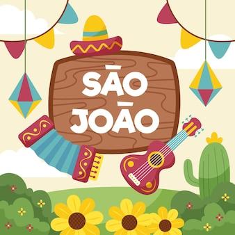 Illustrazione di piatto sao joao