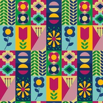 フラットなスカンジナビアのデザインパターン