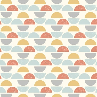 Flat scandinavian design pattern