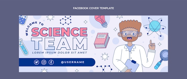 플랫 사이언스 페이스북 커버
