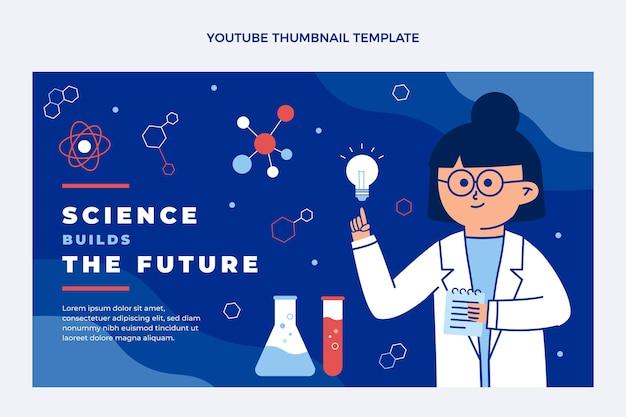 Miniatura di youtube di scienza piatta