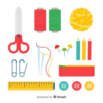 Flat sew element pack