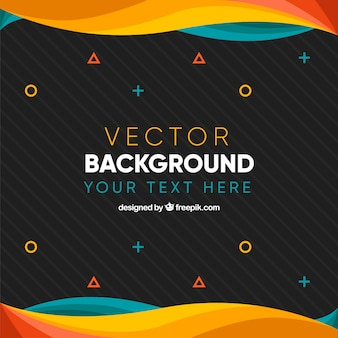 Flat simple background