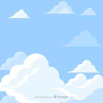 Flat sky background
