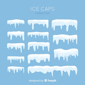 Flat snow cap collection