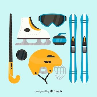 Flat sport accessories