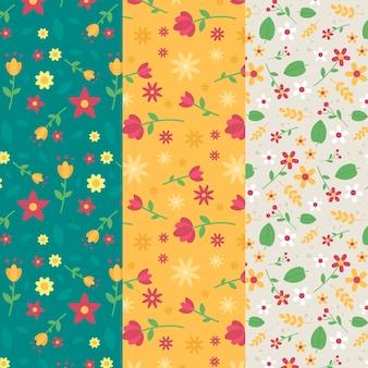 플랫 스프링 패턴 컬렉션