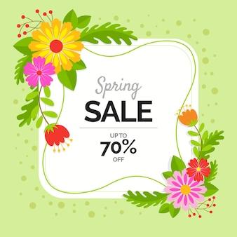 Flat spring sale