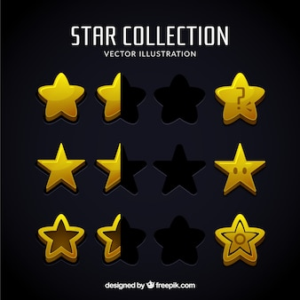 Flat stars collection