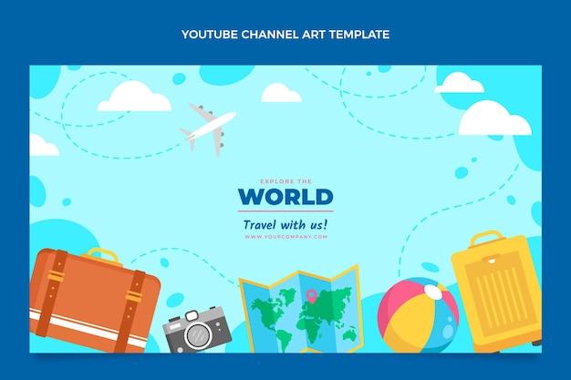 플랫 스타일 여행 유튜브 채널