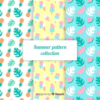 Flat summer pattern pack