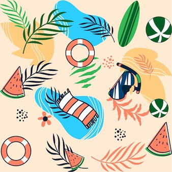 Flat summer pattern