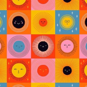 Плоский образец солнца