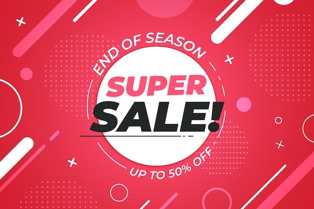 Flat super sale background