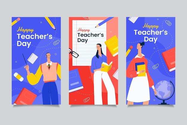 Коллекция рассказов на день учителя в instagram