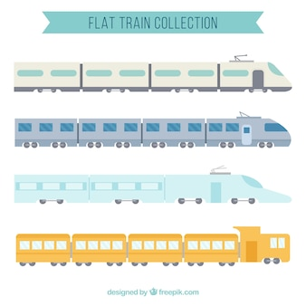 Flat train collection