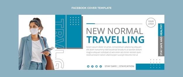Шаблон обложки facebook для путешествий
