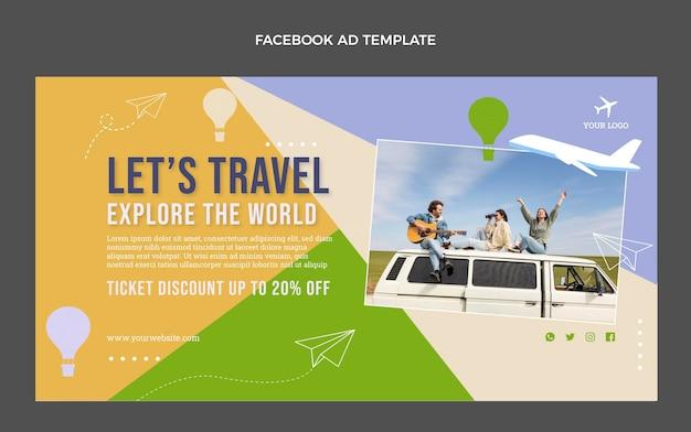 Promozione facebook flat travel