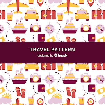 Flat travel pattern