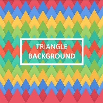 Flat triangle background