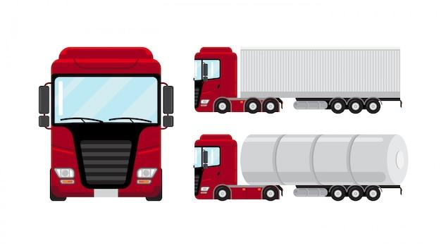 Плоский грузовик