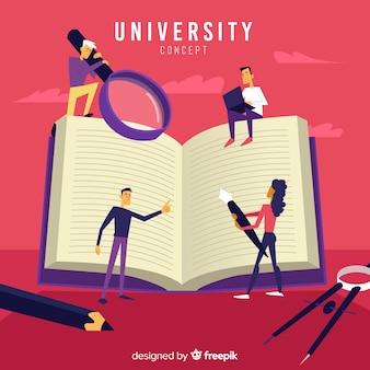 Flat university concept