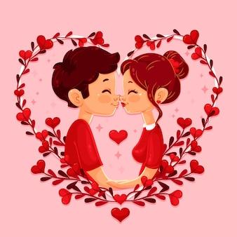 フラットバレンタインの壁紙
