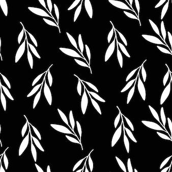 Flat vector seamless pattern.