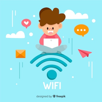 Flat wifi concept