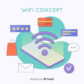 Flat wifi concept