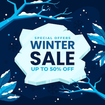 Flat winter sale offer