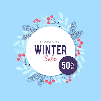 Flat winter sale