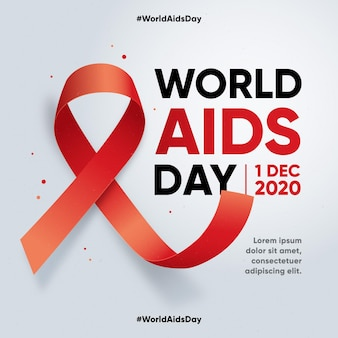 Flat world aids day