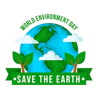 フラットな世界環境デー