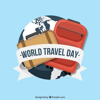Globo mondiale e bagagli