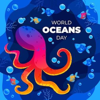 Плоский всемирный день океанов