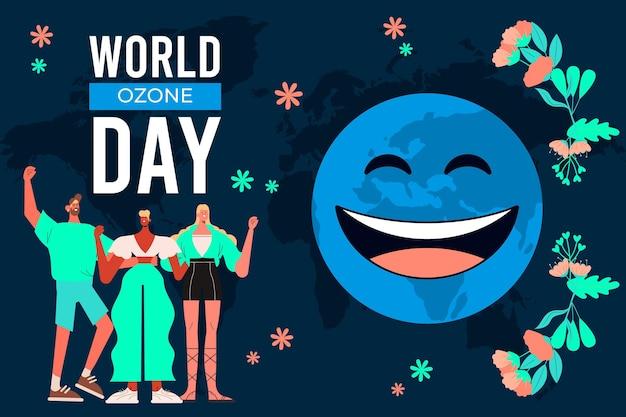 Плоский всемирный день озона