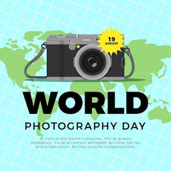 Flat world photography day