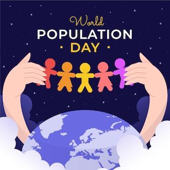 Плоский всемирный день народонаселения