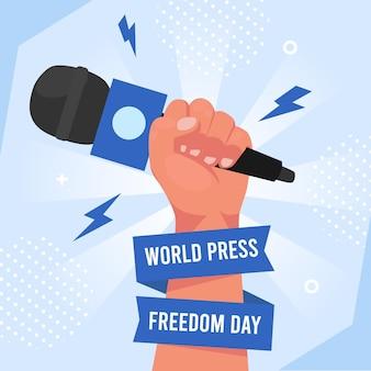 Плоский всемирный день свободы прессы