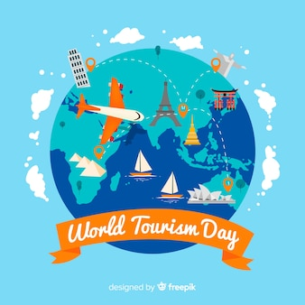 Flat world tourism day celebration