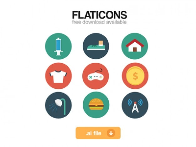 Flaticon set